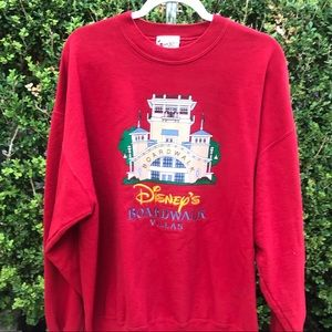Walt Disney World Boardwalk Villas sweatshirt 2X
